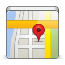 128x128px size png icon of app map