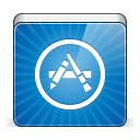 128x128px size png icon of app store