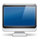 128x128px size png icon of imac black
