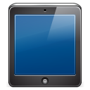 128x128px size png icon of ipad black