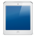 128x128px size png icon of ipad white