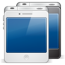 128x128px size png icon of iphone 4