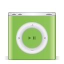 128x128px size png icon of ipod nano green