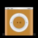 128x128px size png icon of ipod nano orange