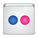 128x128px size png icon of social flickr