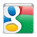 128x128px size png icon of social google