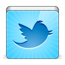 128x128px size png icon of social twitter bird