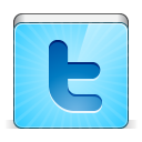 128x128px size png icon of social twitter