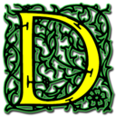 128x128px size png icon of Letter d