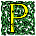 128x128px size png icon of Letter p