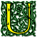128x128px size png icon of Letter u