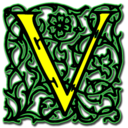 128x128px size png icon of Letter v
