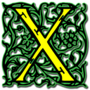 128x128px size png icon of Letter x