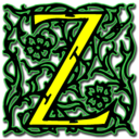 128x128px size png icon of Letter z