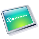 128x128px size png icon of computer cool