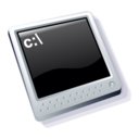 128x128px size png icon of dos