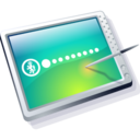 128x128px size png icon of tablet cool