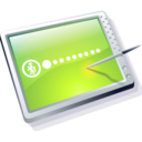 tablet lime Icon