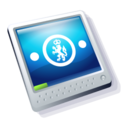 128x128px size png icon of workstation