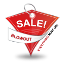 Blowout Sale Icon