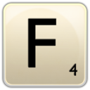 128x128px size png icon of F