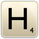 128x128px size png icon of H
