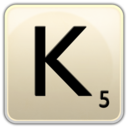 128x128px size png icon of K