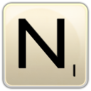 128x128px size png icon of N