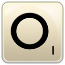 128x128px size png icon of O
