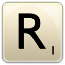 128x128px size png icon of R