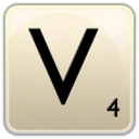 128x128px size png icon of V