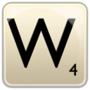 128x128px size png icon of W
