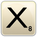 128x128px size png icon of X