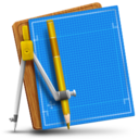 128x128px size png icon of Blueprint Simple