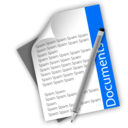 128x128px size png icon of Documents 1