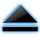128x128px size png icon of Eject