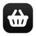 128x128px size png icon of Basket
