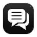 128x128px size png icon of Chat 4