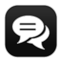 128x128px size png icon of Chat 6
