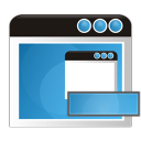 128x128px size png icon of application remove