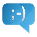 128x128px size png icon of chat comment