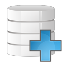 128x128px size png icon of database add
