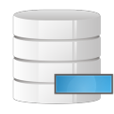 128x128px size png icon of database remove