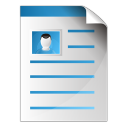 128x128px size png icon of document photo