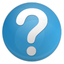 128x128px size png icon of question faq