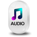 128x128px size png icon of File Audio