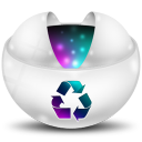 128x128px size png icon of Recycle Full