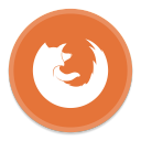 128x128px size png icon of FireFox 3