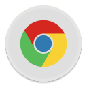 128x128px size png icon of Google Chrome 2