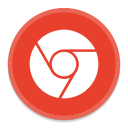128x128px size png icon of Google Chrome 3